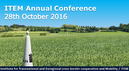 ITEM's annual conference - 28 October 2016
