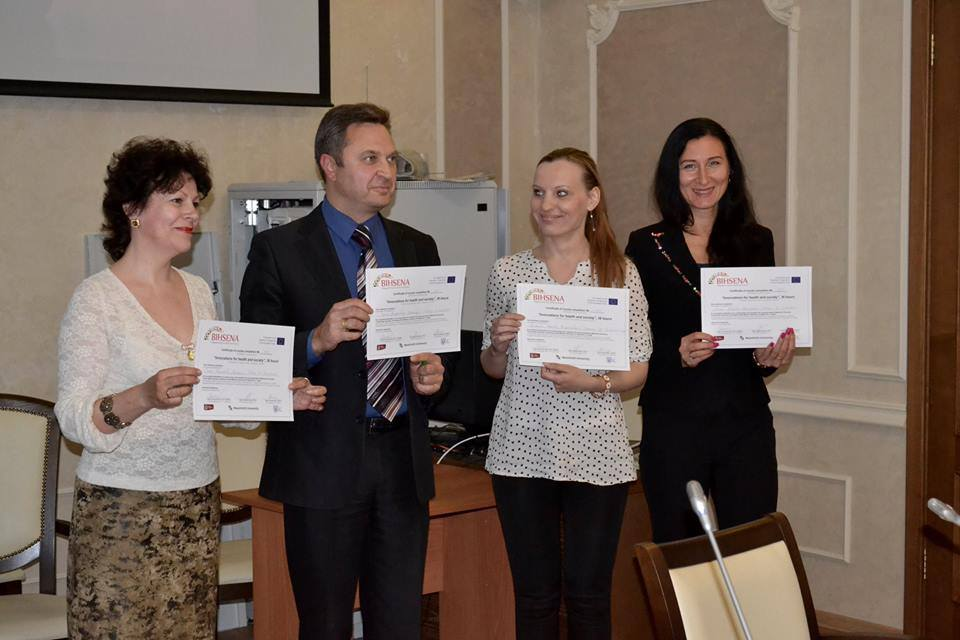 BIHSENA teams from Ukraine and Russia successfully developed and implemented campus courses