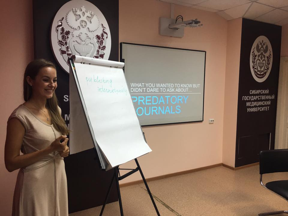 Siberian State Medical University organized the Engloholics Summer School on Academic Writing and Public Health