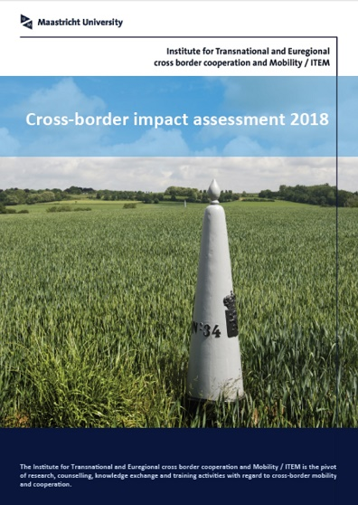 Letter from Parliament: cross-border impact assessment by ITEM considered instrument for preventing border problems