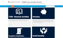 Launching ITEM's cross-border portal in September
