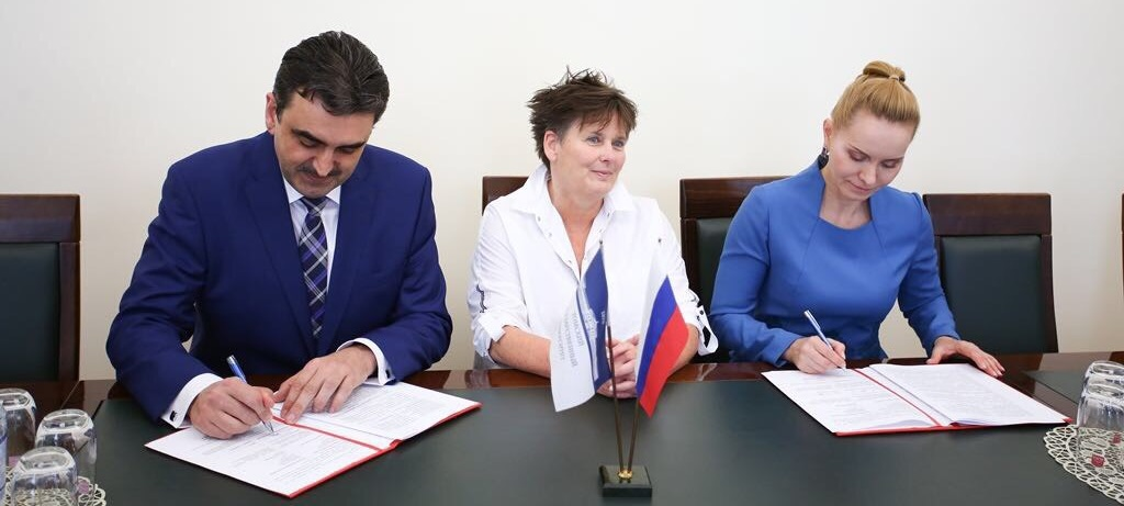 Agreement about the Public Health Center was signed between National Research Tomsk State University, Siberian State Medical University and Maastricht University