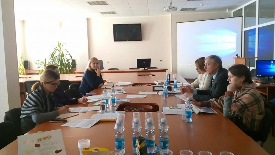 BIHSENA monitoring visit at Vinnytsa National Pyrohov Medical University