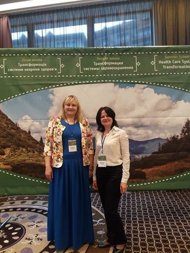 """BIHSENA team members participated in the Summer School 2017 """"Health care system transformation: Eastern Europe"""", Ukraine"""