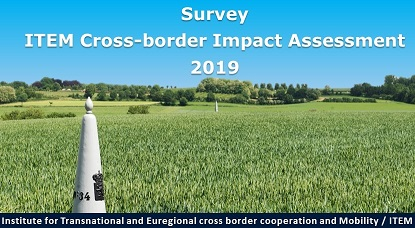 Survey - ITEM cross-border impact assessment 2019